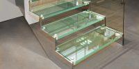 Pochôdzne sklenené stupne